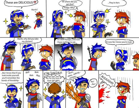 Ike's chicken by chioi-tempest