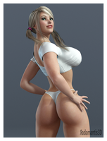 Julia Back by Radamantis3d