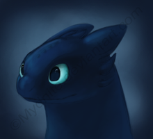 Toothless by Mydnite