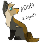 Wolf adopt by Tenne-the-Aussi