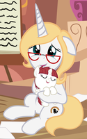 The Creator of MLP Holding Fausticorn by Beavernator