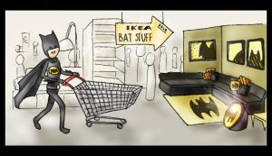 Bat Ikea by YaYaOo