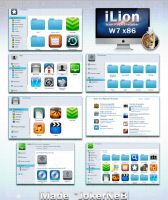 iLion IconPack Installer w7 by JokerneB