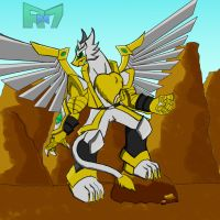 Haos Thunder Griffonneer by Rollster007