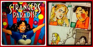 Strangers In Paradise coloring by ChibiCelina