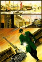 Green Hornet - Page test 1 by donbarata