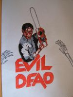 a tribute to Evil Dead by Roverdabummer