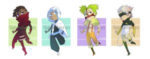 Adoptables - Mysterious BOYS (CLOSED) by LaLunatique