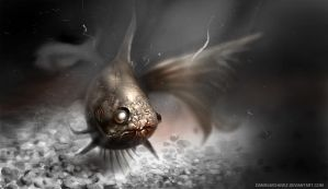 Goldfish Zombie Version by danielmchavez