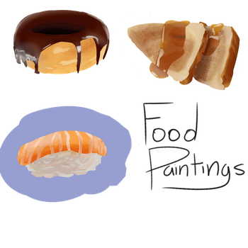 Food Painting Practice by ReaganIridescence