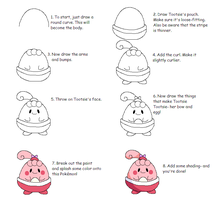 How to draw Tootsie by Karrotcakes