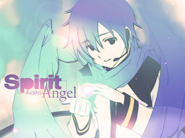 Wallpaper Spirit Angel Kaito by Asunaw