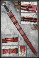 Viking Sword Scabbard by VendelRus