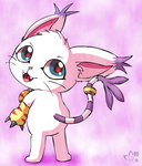 Gatomon by pichu90