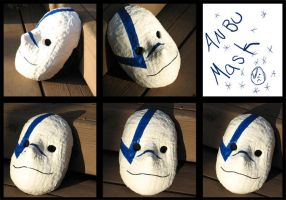 ANBU mask by thewavertree