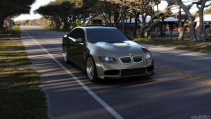 BMW M3 e92 outdoor R3 by uros3D
