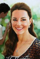 Kate Middleton pintura realista by fabianoMillani
