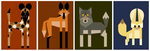 Charismatic Canines by killskerry