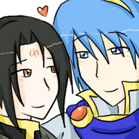 Soren x Marth by SparxPunx