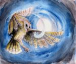 The Owl and her Prey by Night-Owl8
