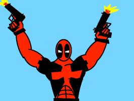 Deadpool Digital Picture by BobTheEgg