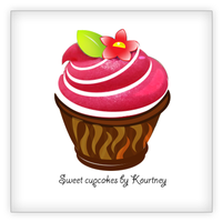 Logo for sweet cupcake by dinesh1201