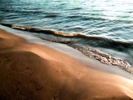 Lake Erie Beach Stuff 1 by RedRoseBudBlooming