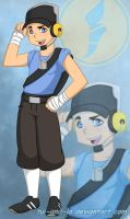 Hey there BLU Scout by tui-and-la