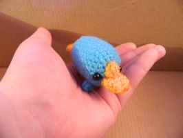 Palm sized Perry by Yuriko72