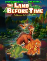 The Land Before Time Movie Poster Remake by Pikaturtle