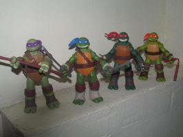 TMNT Action Figures by LilachSigal