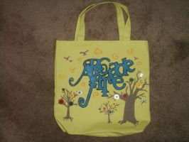 Arcade Fire Tote by lawlosaur
