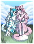 Farra and Arooncat [Trade] by SonicSweeti