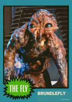 Brundlefly The Fly Trading Card by Hartter