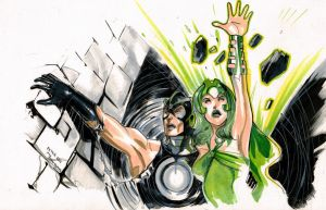 Phoneix Saga with Polaris and Havok by Peter-v-Nguyen