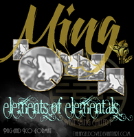 Ming Elemental Ping Button's and Icons by TheAngeldove
