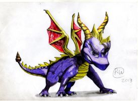 Spyro The Dragon by Paul2960