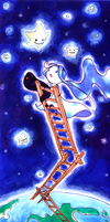 Ladder to the Stars by violet-rainstorm