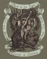 A Game Of Sigils (Game Of Thrones) by MousePencil