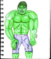 Hulk re-do by Anthony-Callaghan