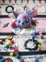 Espeon Pokemon Deco Parfait by KeoDear