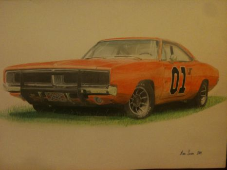General Lee Charger by Nymphantom