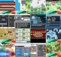 Pokemon Paradise Bunch Screens by Venom12314