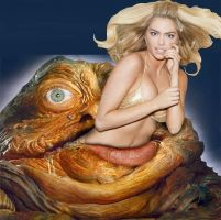 Jabba vore 1(Kate Upton) by andromeda111
