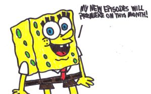 SpongeBob talks about new episodes by SuperMarcosLucky96