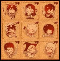 Magi :: CollectionCoasters by KagenKahira