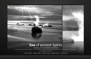 Sea of ancient Spirits. by Uribaani