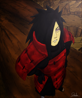 Madara Uchiaha by Dander97