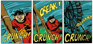 Creak! Crunch! by MRNeno