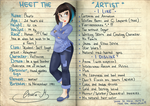Meet the Artist !!!! ID by VioletKy